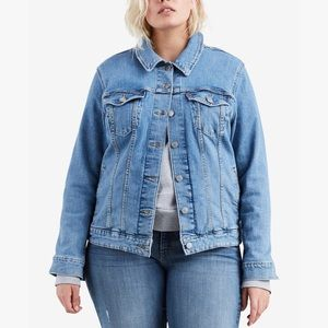 LEVI'S Original Trucker Denim Jacket Plus Size